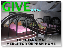 GIVE now TO CHIANG MAI MERCI FOR ORPHAN HOME